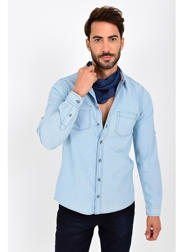Rodi Jeans Gömlek Mavi